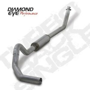 Diamond Eye K4212a 4 Turbo Back Exhaust System For 94 02 Dodge Cummins 2500