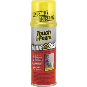 12 Pack Touch n Foam Home Seal Foam Sealant