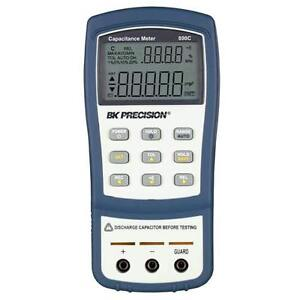 Bk Precision 890c 11 000 count 50 Mf Dual display Handheld Capacitance Meter