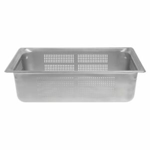 Vollrath 90063 Super Pan 3 Full Size X 6 D Perforated Food Pan