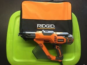 Ridgid 3 In Drywall And Deck Collated Screwdriver R6791 Dated 2016