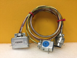 Fluke Y5002 36 Length Interface Cable Assembly For 5100 Series To 5220a