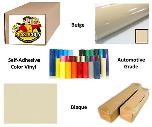 Beige Self adhesive Sign Vinyl 48 X 165 Ft Or 55 Yd 1 Roll