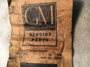 50 Gm Nos 435847 Manual Transmission Countershaft Roller Bearings Gm 3
