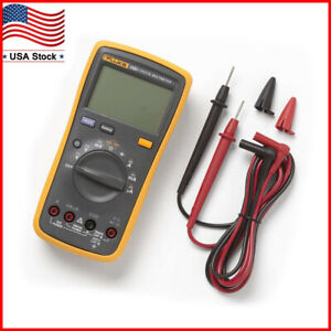 New Fluke 15b Multimeter Ac dc diode r c Auto manual
