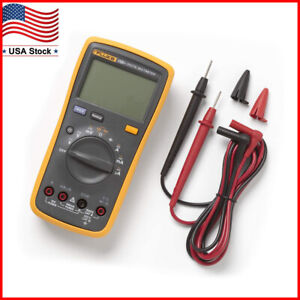 Fluke 15b F15b Digital Multimeter Meter Dmm 4000 Counts Auto manual Ac Dc V a