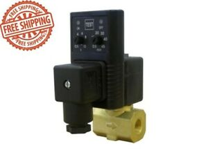 California Air Tools Automatic Drain Valve Timer Manual Test Switch In Out Ports