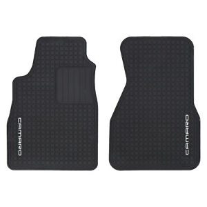 Oem New Front All Weather Rubber Floor Mats W Logo 93 02 Camaro 12495267