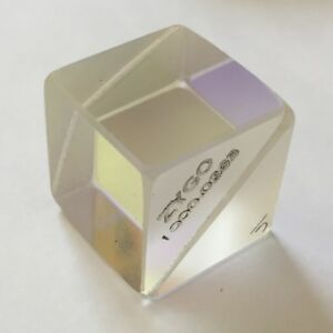 Zygo Optical Beam Splitter Prism Laser Optics Cube 1 25 4mm 50