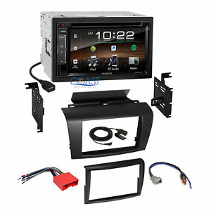 Kenwood Dvd Usb Sirius Bluetooth Stereo Dash Kit Wire Harness For 04 09 Mazda 3