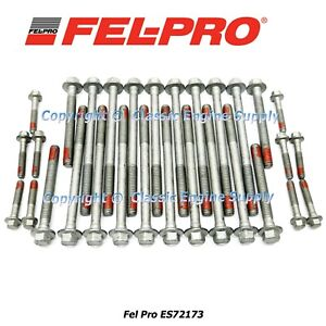 New Fel pro Head Bolt Set Fits 1997 2003 Some 2004 Gm 4 8l 5 3l 5 7l 6 0l Ls