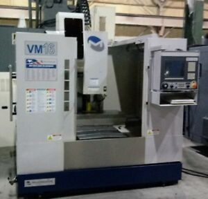 Milltronics Vm 16 Vertical Machining Center 2008 Centurion 7200 Cnc Control