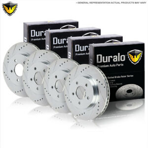 For Kia Sorento 2003 2004 2005 2006 New Duralo Front Rear Brake Rotor Kit