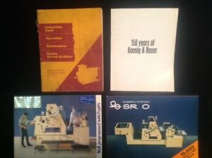 Miehle 29 36 Offset Press Instruction Bk Operation Maintenance 1956 Printing