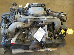 2007 Subaru Impreza 2 5 Engine Motor Assembly 119 603 Miles Ej253 No Core Charge
