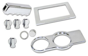 Mustang Chrome 9 Pc Billet Interior Kit Fits 2005 2009