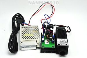 Powerful 980nm 0 4w 400mw Infrared Ir Dot Laser Diode Moudle W 12v 3a Power