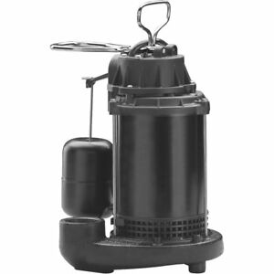 Wayne Water System Cast iron Submersible Sump Pump