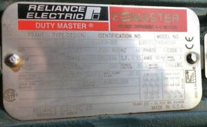 Reliance 100 Hp Electric Motor_ Model P40g4550_ Id s9011904 001