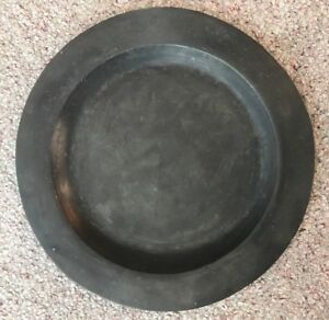 Extremely Lare 18th Century 16 5 Inch Pewter Charger