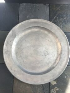 18th Century Pewter Charger 15 English
