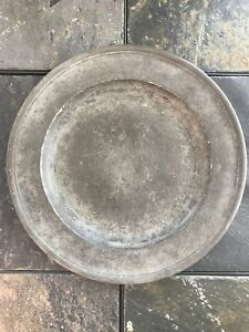 Townsend Compton Hallmarked Pewter Charger