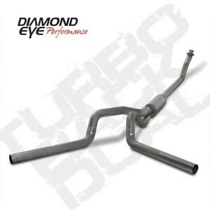 Diamond Eye K4214s 4 Turbo Back Exhaust System For 94 02 Dodge Cummins 2500