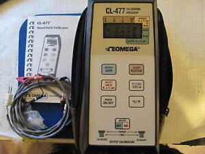 Omega Cl 477 Hand heldcalibrator Thermometer