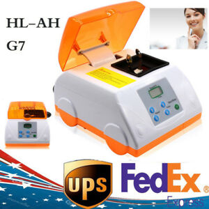 Dental Digital Lcd Fast Speed Amalgamator Amalgam Capsule Mixer Ups Hl ah G7