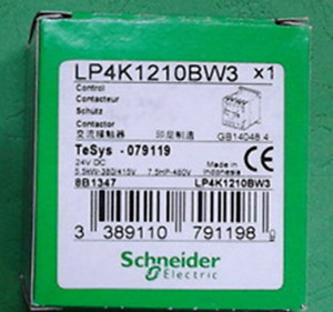 New In Box Schneider Telemecaniquetesys Lp4k1210bw3 Contactor Free Shipping