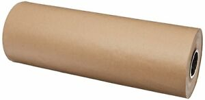 Kraft Paper Roll 1200 X 24 Brown Sheet For Gift Wrapping Packing Shipping Fill