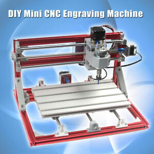 3 Axis 3018 Diy Cnc Wood Engraving Carving Pcb Milling Machine Grbl Control Gift
