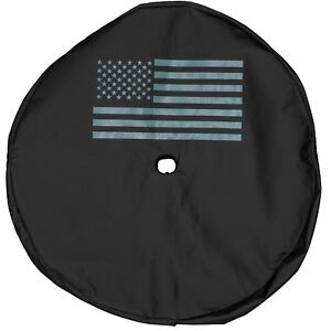 18 20 Jeep Wrangler Jl Spare Tire Cover With American Flag Logo Oem New Mopar