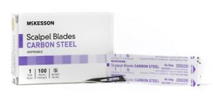 Mckesson Brand Surgical Blade Carbon Steel Size 11 Disposable Case Of 1000