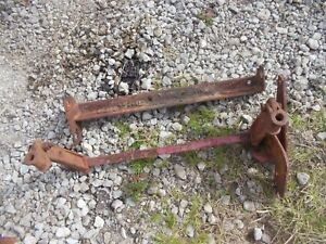 Massey Harris Pony Tractor Front Mh Cultivator Lift Bracket Arms