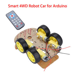 Avoidance Tracking Motor Gear Smart Robot Car Ir Sensor Chassis Kit For Arduino