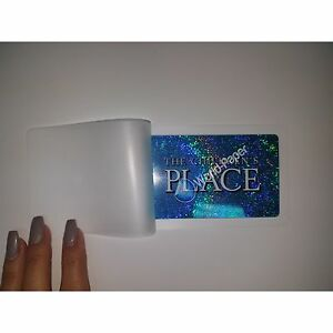 3 Mil Business Card Laminating Pouches 2 1 4 X 3 3 4 1000 bx