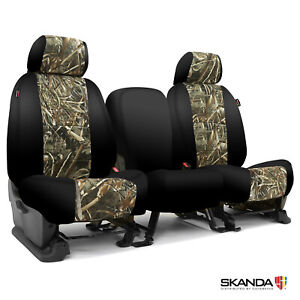 Coverking Realtree Max 5 Camo Custom Tailored Seat Covers For Ford F 150
