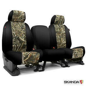 Skanda Coverking Realtree Max 5 Camo Tailored Seat Covers For Chevy Silverado