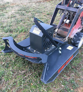 Toro Dingo Mini Skid Steer Attachment 48 Brush Cutter Bush Hog Free Shipping