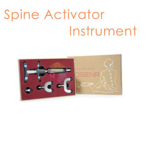 Chiropractic Adjustment Tool Portable Instrument Spine Activator Back Massage