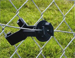 Chain Link Fence And U Post Insulators Add Electric Fence To Chain Link Bag 150