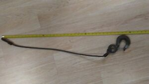 Crosby Swl 3t 3 Ton Eye Hook Lifting Hook 32 Steel Cable Free Shipping