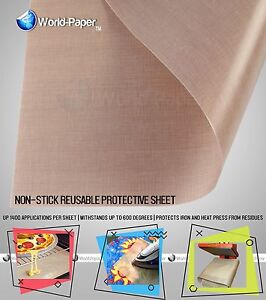 Protective Non stick Sheet Glass Fabric Sheet Transfer Heat Press 16 x9 Feet