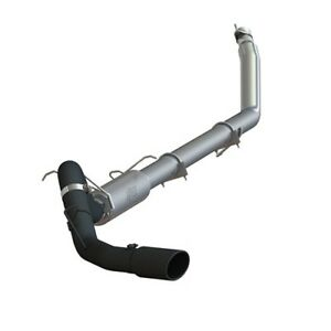 Mbrp S6100blk 4 Turbo Back Exhaust System For 94 02 Dodge Ram Cummins Diesel