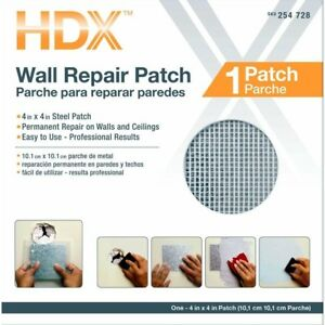 Home Building Materials Wallboard Patches Damages Dry Wall Repair Patch Kit