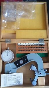 New Suhl Ddr Three Points Thread Micrometer For Measuring Metric Thread