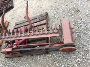 Farmall Ih Model 100 2pt Fasthitch Tractor Ihc Mount Lay Over Sickle Mower