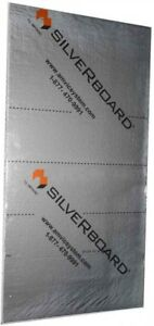 5 pc Home Building Materials Silverboard Foam Radiant Acoustic Insulation Kit