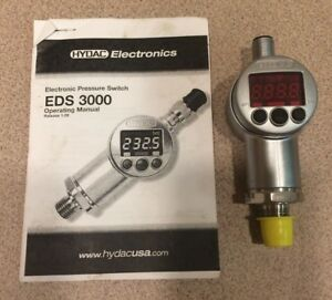 Hydac Eds 3386 3 0250 400 f1 Electronic Pressure Switch 250 Psi